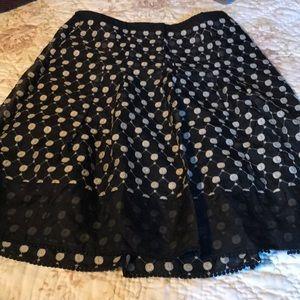 Design Skirt Mid Length 8 Like New